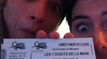 Billet de spectacle - Max et Ugo